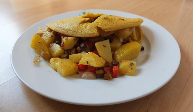 Bauernfrühstück (vegan)