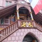 Rathaus in Mulhousen, Alsace, France