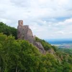 Château du Saint-Ulrich, Blick zu Château du Girsberg