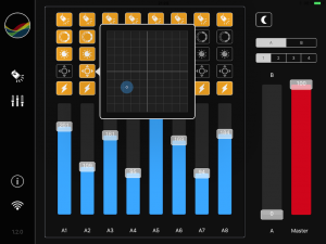Mixing View - adjust position